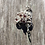 Thumbnail: Empress Garnet Rose Loc Ring (Pencil Size)