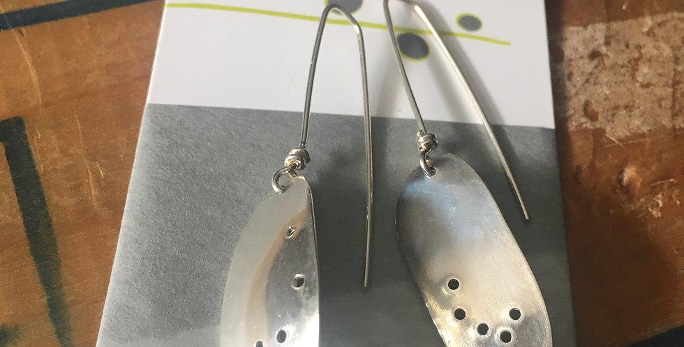 Organic shape earrings