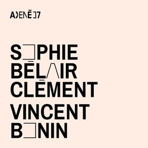 Lecture de textes en cours d'écriture | Sophie Bélair Clément et Vincent Bonin