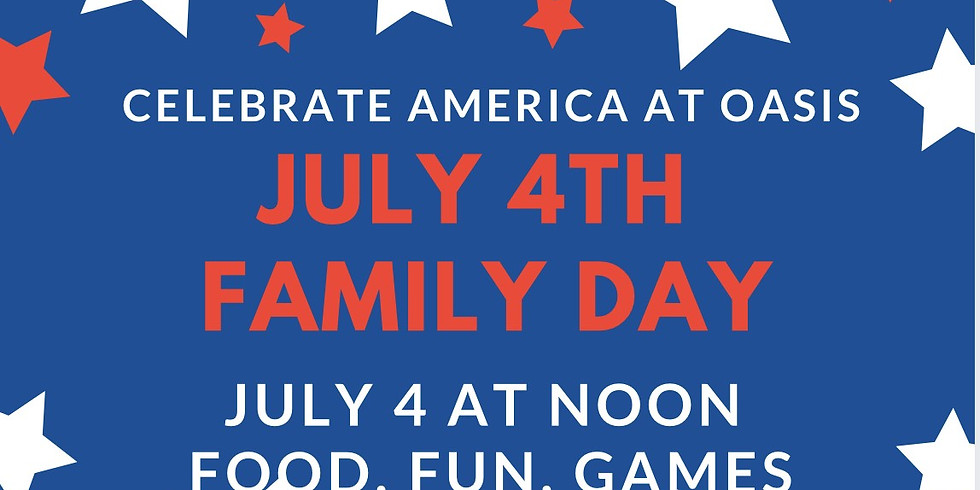 Fourth of July Family Day