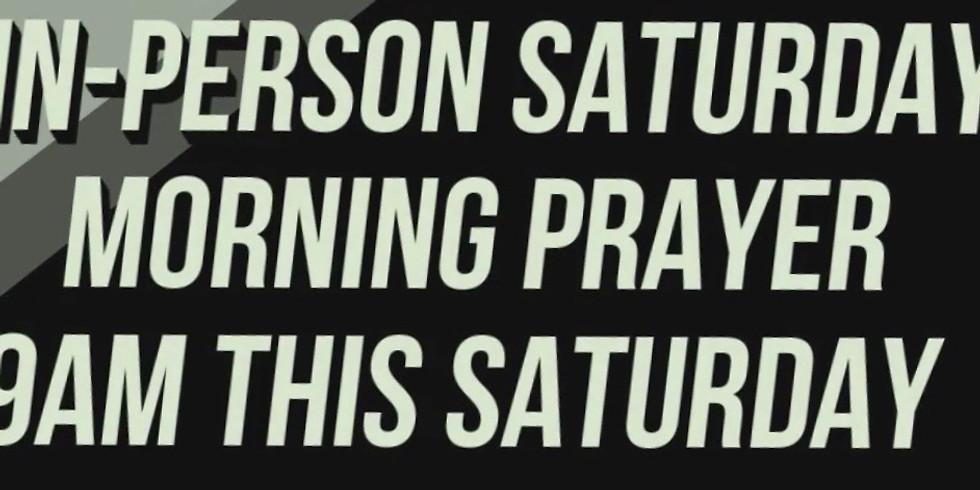 Saturday Morning Prayer Service