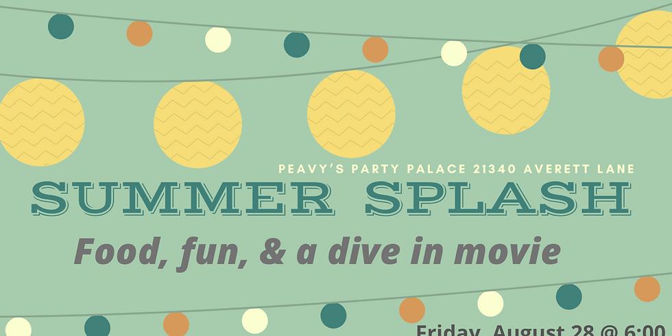 Oasis Students Summer Splash