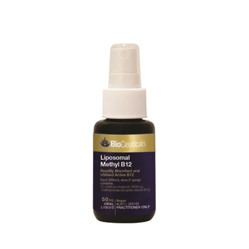 Bioceuticals Liposomal Methyl B12 Spray 50 ml