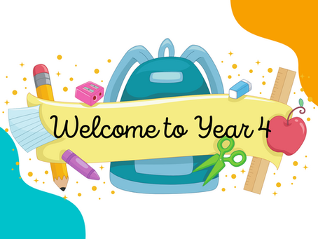 Welcome to Year 4!