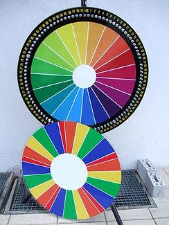 roue de la fortune avec insert