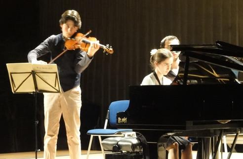 Le festival des Musicales en Folies, avec la pianiste Eve Mélody Salom, 2013