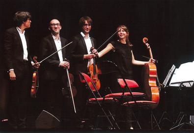 Festival des Arcs 2018, avec le quatuor Gaïa