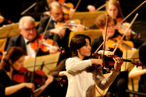 Concerto de Mozart avec l'Orchestre Philharmonique de Besançon dirigé par Fabrice Férez, 2011
