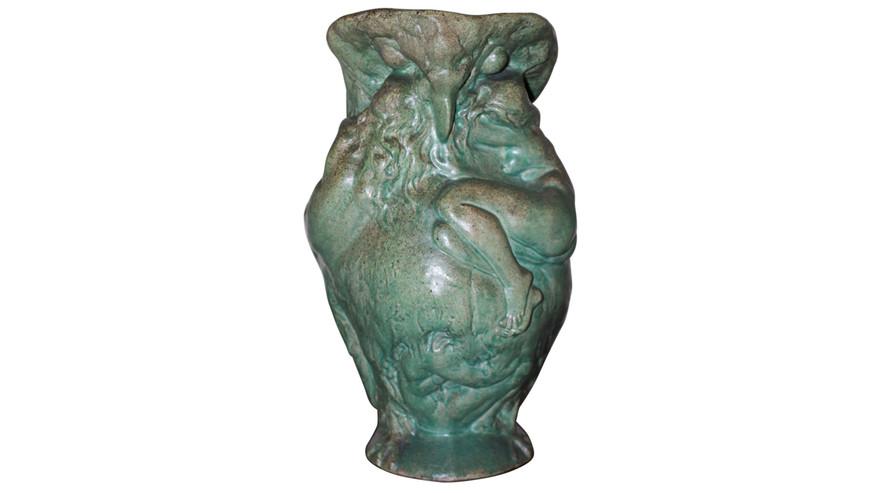 Jean Coulon, sculpteur (Ebreuil, 1853 - Vichy, 1923) & Pierre Adrien Dalpayrat, céramiste (Limoges, 1844 - Paris, 1910)
