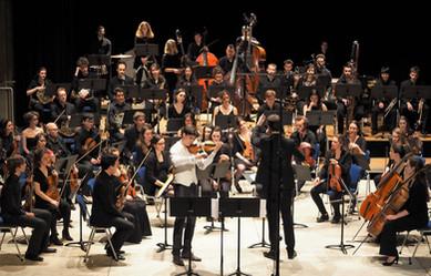 Le festival des Musicales en Folies, concerto de Alan Berg, avec l'Ensemble Orchestral de Dijon dirigé par Flavien Boy, Fontaine-lès-Dijon, 2018