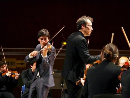 Le festival des Musicales en Folies, concerto de Piotr ilitch Tchaïkovski avec l'Ensemble Orchestral de Dijon dirigé par Flavien Boy, Fontaine-lès-Dijon, 2017