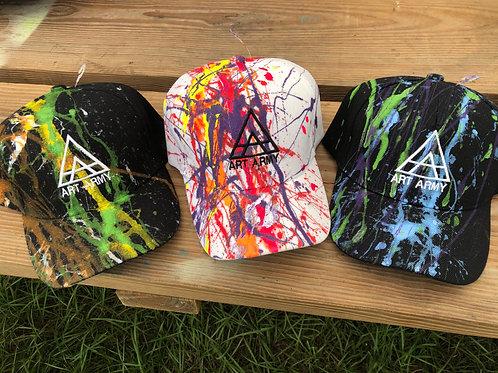 Custom Painted Baseball Hat