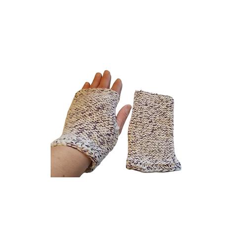 Purple Mix Texting Gloves