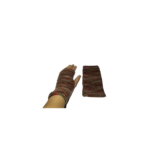 Brown Mix Texting Gloves