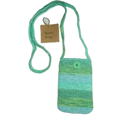 Emerald Energy Cell Phone Purse