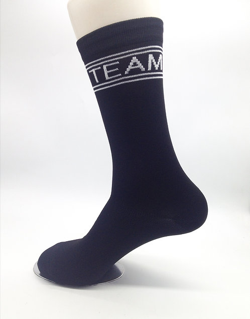 Black Crew Socks - 1 Pair