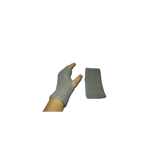 Pewter Grey Texting Gloves