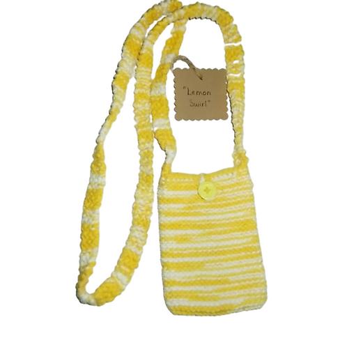 Lemon Swirl Cell Phone Purse