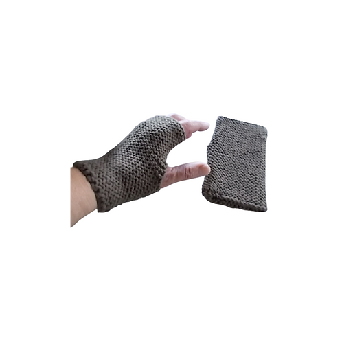 Solid Chocolate Brown Texting Gloves