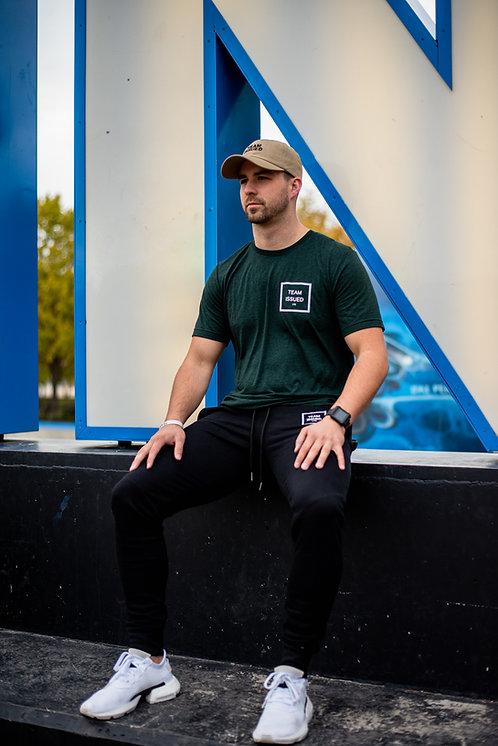 Forest Green Tri-blend T-shirt