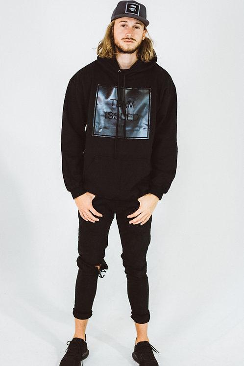 Black on Black Pullover Hoodie