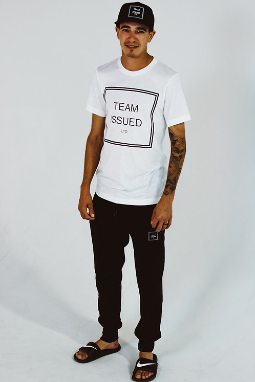White Tri-blend T-shirt