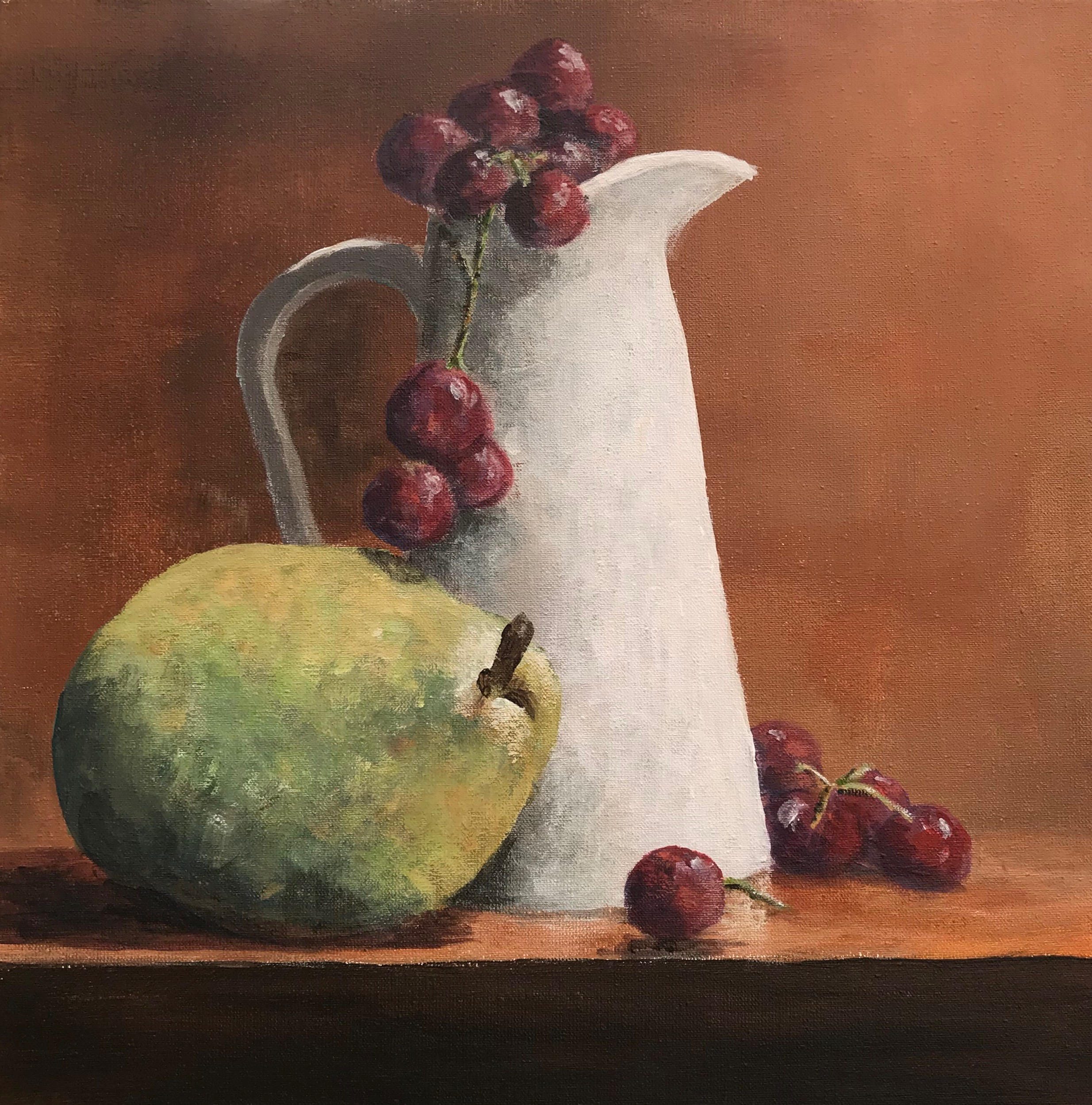 Jug with Fruit