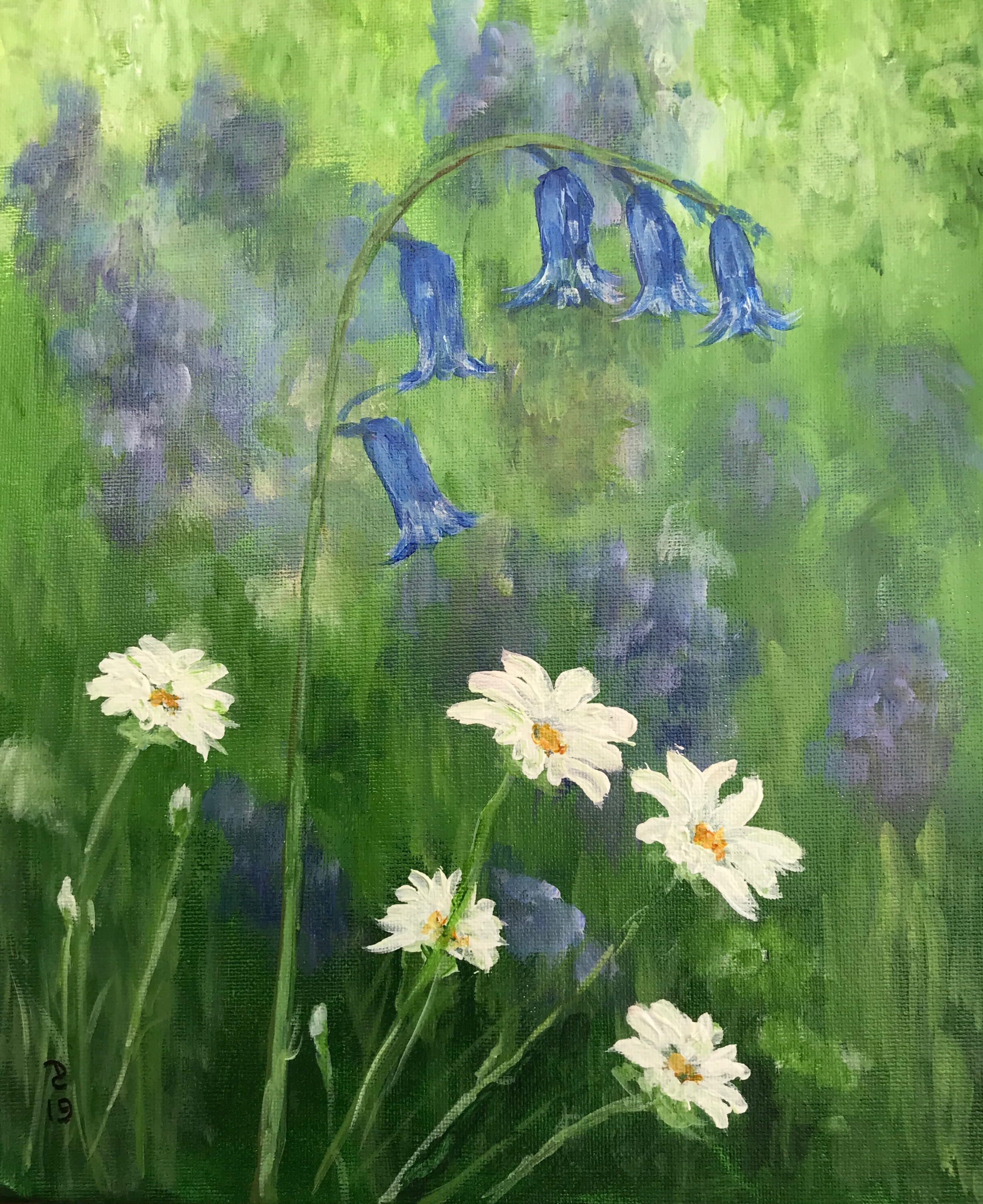 Bluebells and Daisies