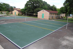 CC Sweating Volley and Basketball Court Striping   (50)