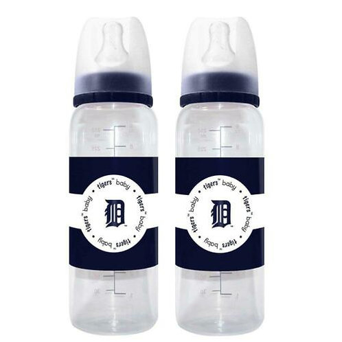 Tigers 9oz Baby Fanatic's Baby Bottles 2-Packs