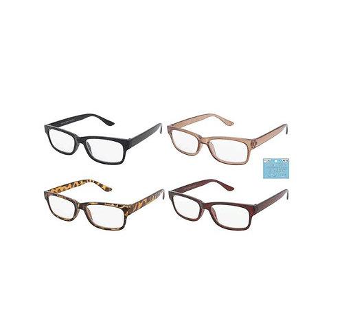 Plastic Frame Reading Glasses - Unisex