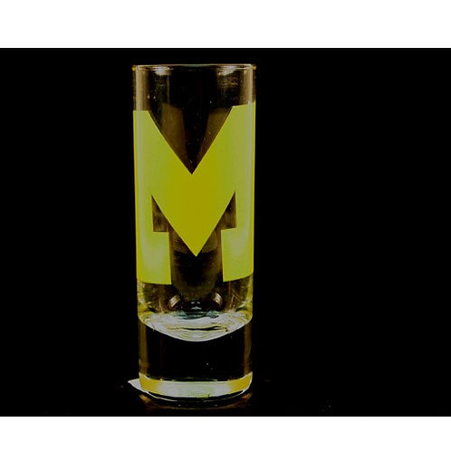 Wolverines Cordial Hype Shot Glass