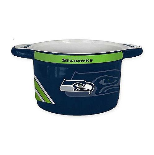 Seahawks 23oz Ceramic Game Time Bowl