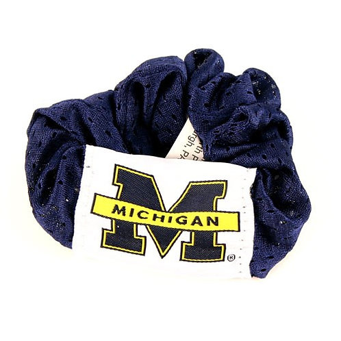 Wolverines Jersey Scrunchie