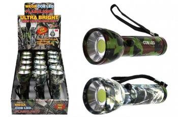 Super Bright COB Mega Flashlight - Camo