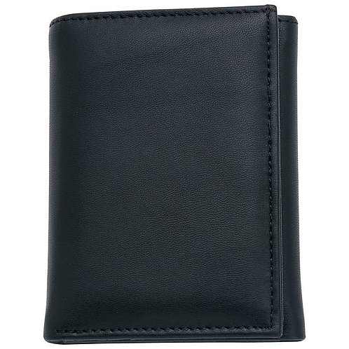 Embassy™ Leather Tri-Fold Wallet