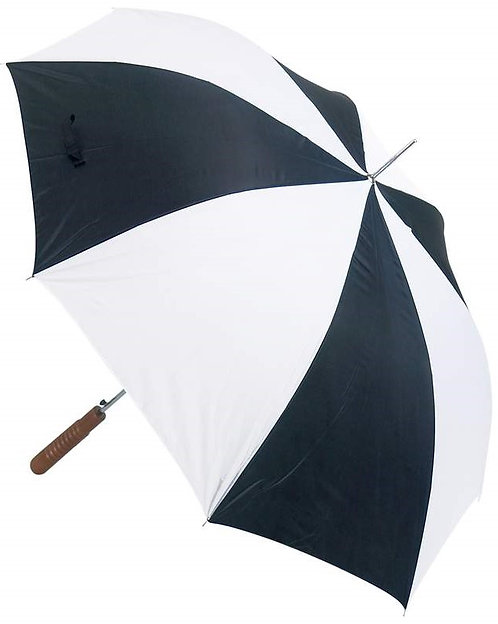 "All-Weather™ 48"" Umbrella - Black & White"
