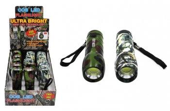 Super Bright COB Flashlight - Camo