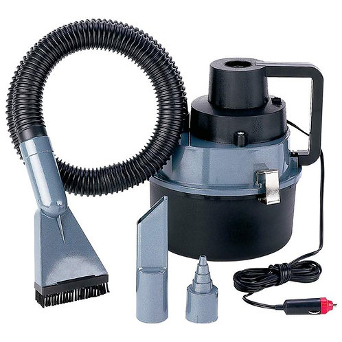 Titanium Dirt Magic™  Heavy-Duty Wet/Dry Auto or Garage Vacuum