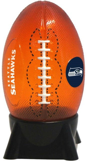 Seahawks Cordless Football Nightlight