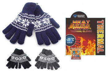 Heat Max® Insulated Thermal Stretch Gloves