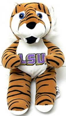 "LSU 14"" Plush Striped Tiger"