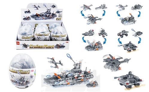 Toy Building Blocks - Medium - Military 1