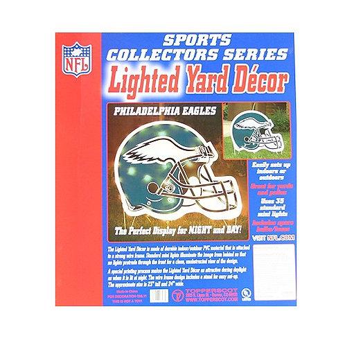 "Eagles 24"" x 25"" Lighted Yard Decor"