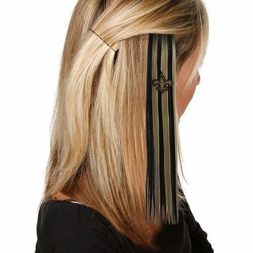 Saints Hair Extension with Clip