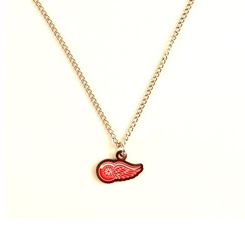 Red Wings AMCO Metal Chain & Pendant