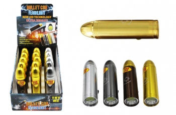 Super Bright COB Flashlight - Bullet