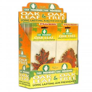 Oak Leaf & Oak Tree Air Freshener in a Countertop Display