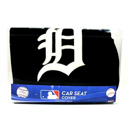 Tigers Polyester Car Seat Cover with Embroidered Logo