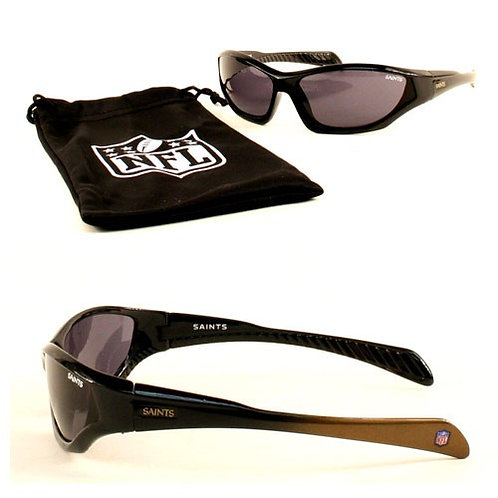 "Saints ""Quake"" Kid's Sunglasses with Microfiber Sunglass Bag"